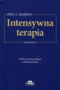 Intensywna terapia - okładka książki