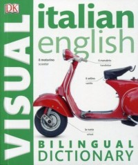 Italian-English. Bilingual Visual Dictionary - okładka książki