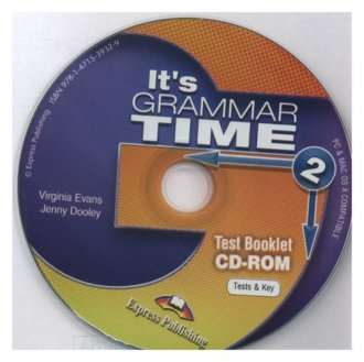 Its Grammar Time 2 Test CD-ROM - pudełko audiobooku