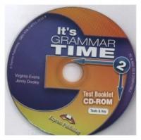Its Grammar Time 2 Test CD-ROM - pudełko audiobooku