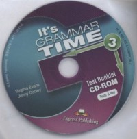 Its Grammar Time 3 Test CD-ROM - pudełko audiobooku