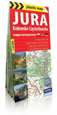 Jura Krakowsko-Częstochowska mapa - okładka książki