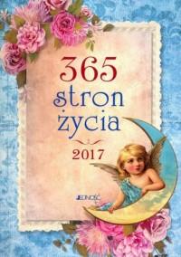 Kalendarz 2017. 365 stron życia - okładka książki
