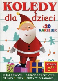 Kolędy dla dzieci - Wydawnictwo - okładka książki