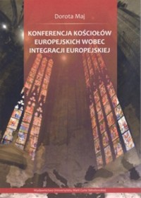 Konferencja Kościołów Europejskich - okładka książki