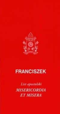 List apostolski Misericordia et - okładka książki