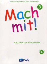 Mach mit 3. Poradnik dla nauczyciela - okładka podręcznika