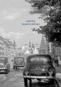 Notes warszawski - okładka książki
