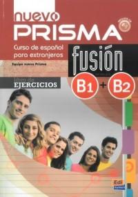 Nuevo Prisma fusion B1 B2. Libro de ejercicios (+ CD) - okładka podręcznika