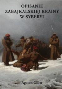 Opisanie zabajkalskiej krainy w - okładka książki