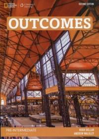 Outcomes Pre-Intermediate Students Book (+ DVD) - okładka podręcznika