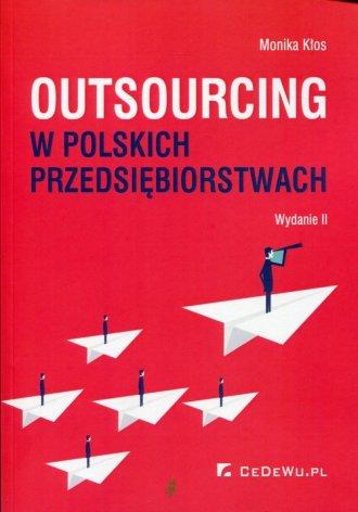 Outsourcing w polskich przedsiębiorstwach - okładka książki