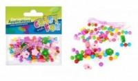 Ozdoba dekoracyjna koraliki drewniane kwiaty - zdjęcie zabawki, gry