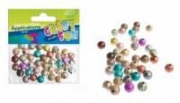 Ozdoba dekoracyjna matowe koraliki 50 szt - zdjęcie zabawki, gry