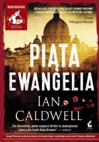 Piąta ewnagelia - Ian Caldwell - pudełko audiobooku