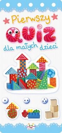 Pierwszy quiz dla małych dzieci - okładka książki