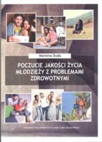 Poczucie jakości życia młodzieży - okładka książki