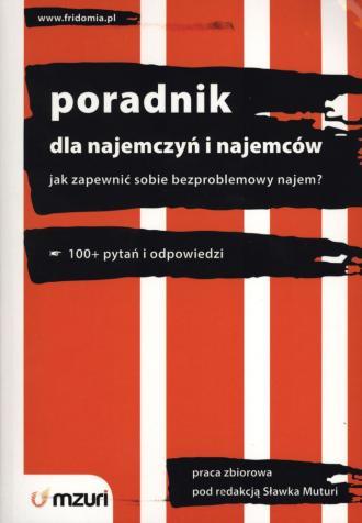 Poradnik dla najemczyń i najemców - okładka książki
