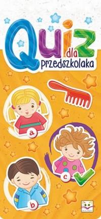Quiz dla przedszkolaka - Wydawnictwo - okładka książki
