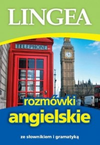 Rozmówki angielskie ze słownikiem i gramatyką - okładka książki