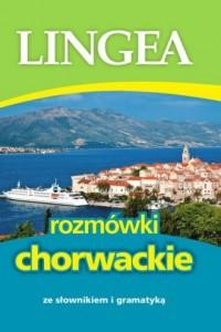 Rozmówki chorwackie ze słownikiem i gramatyką - okładka książki