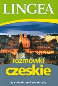 Rozmówki czeskie ze słownikiem i gramatyką - okładka książki