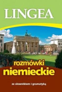 Rozmówki niemieckie ze słownikiem i gramatyką - okładka książki