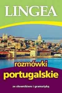 Rozmówki portugalskie ze słownikiem i gramatyką - okładka książki