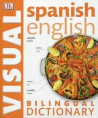 Spanish-English. Bilingual Visual Dictionary - okładka książki