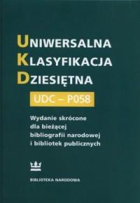 Uniwersalna Klasyfikacja Dziesiętna - okładka książki