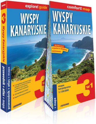 Wyspy Kanaryjskie explore! 3 w - okładka książki