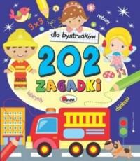 202 zagadki dla bystrzaków - okładka książki