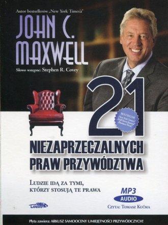 21 niezaprzeczalnych praw przywództwa. - pudełko audiobooku