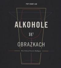 Alkohole w obrazkach - okładka książki