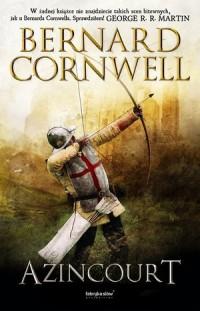 Azincourt - Bernard Cornwell - okładka książki