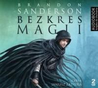 Bezkres magii - Brandon Sanderson - pudełko audiobooku