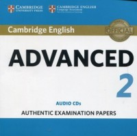 Cambridge English Advanced 2. Audio CDs 2 - pudełko audiobooku