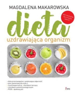 Dieta uzdrawiająca organizm - okładka książki