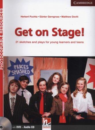 Get on Stage! Teachers Book (+ - okładka podręcznika