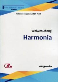 Harmonia - Weiwen Zhang - okładka książki