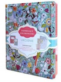 Inspirujące kolorowanki. Ukojenie - okładka książki