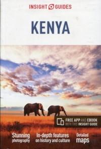 Kenya. Insight guides - okładka książki