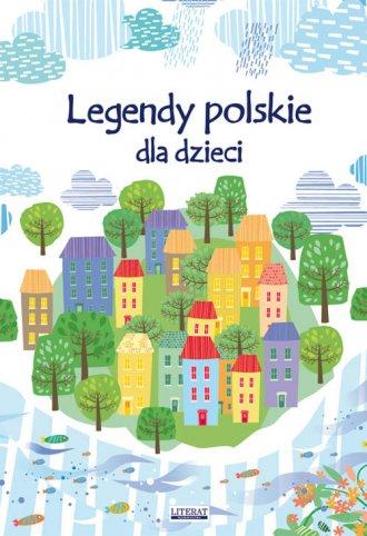Legendy polskie dla dzieci - okładka książki