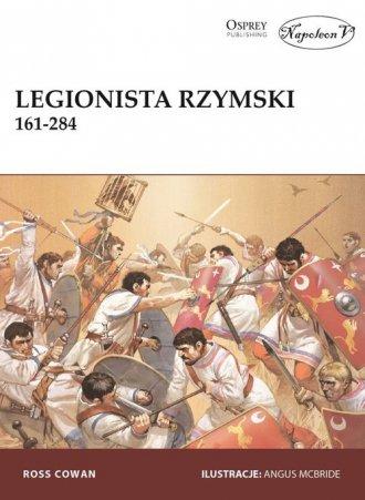 Legionista rzymski 161-284 - okładka książki