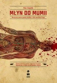 Młyn do mumii - okładka książki