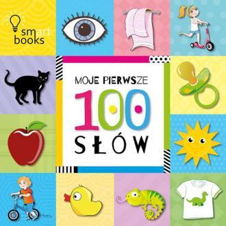 Moje pierwsze 100 słów - okładka książki