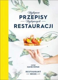 Najlepsze przepisy najlepszych restauracji - okładka książki