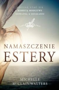 Namaszczenie Estery - okładka książki