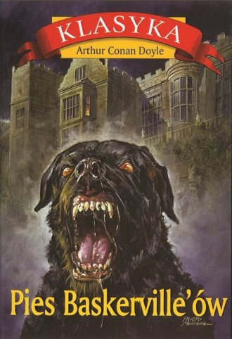 Pies Baskerville ów. Seria: Klasyka - okładka książki