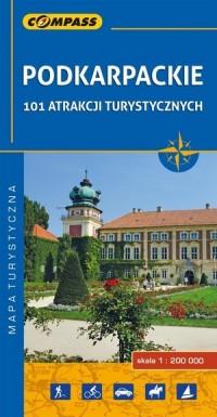 Podkarpackie - 101 atrakcji turystycznych. - okładka książki